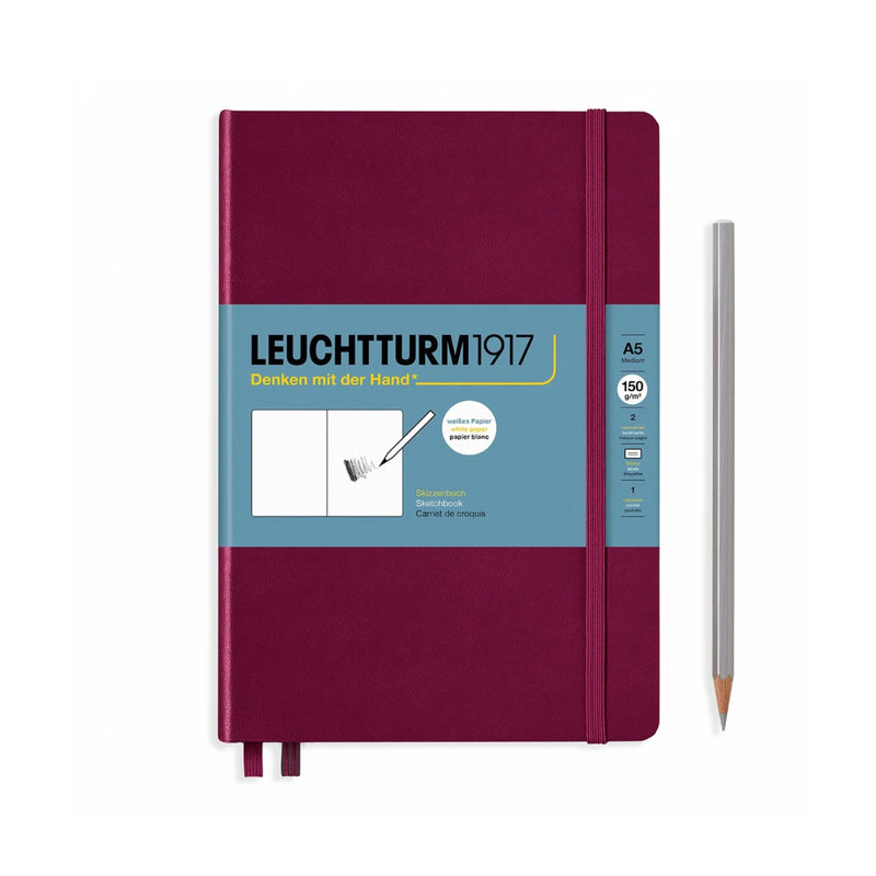 Leuchtturm1917 Sketchbook - Port Red