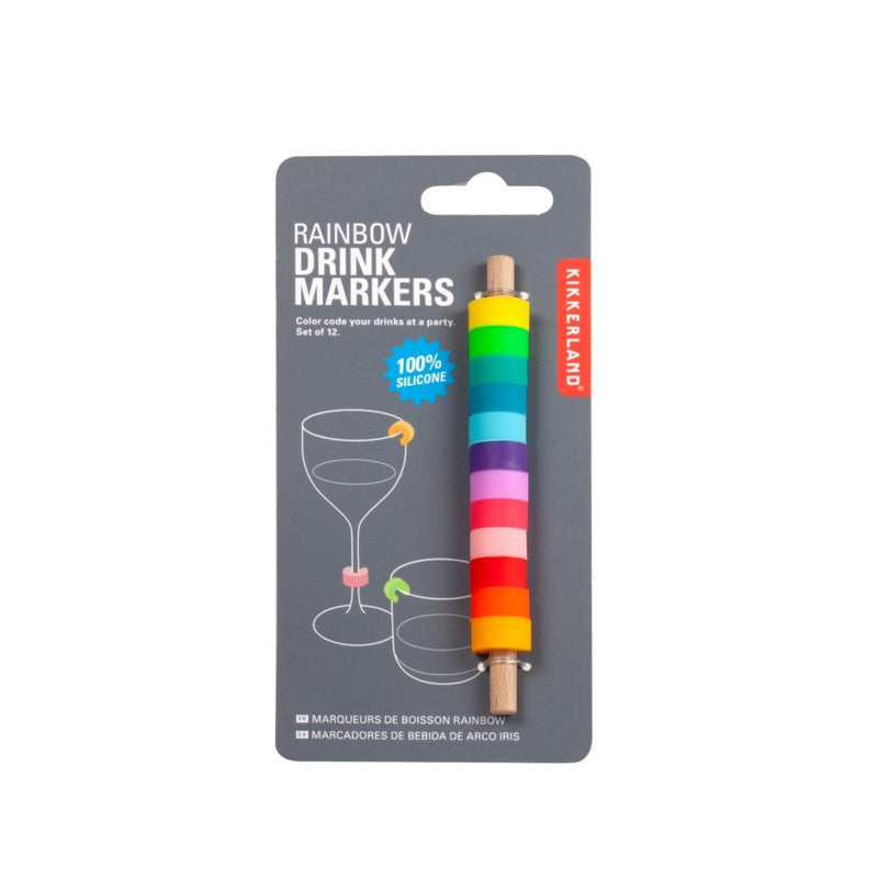 Rainbow Drink Markers