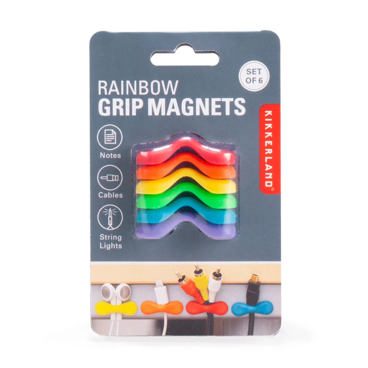 rainbow magnetic grips