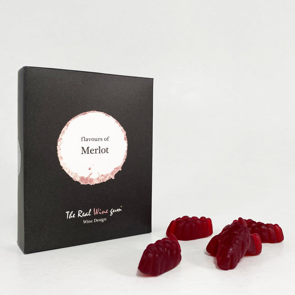 Real Wine Gums - Merlot