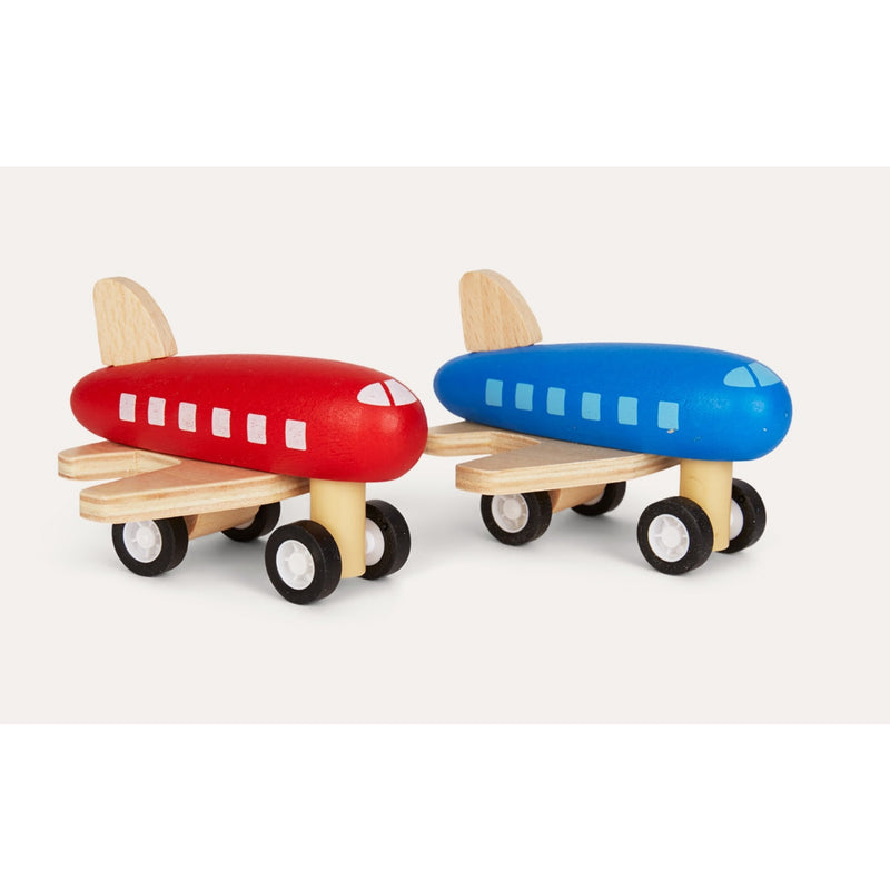 RunwayTape and Wooden Plane