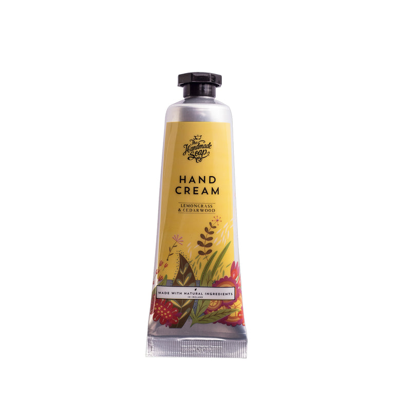 Lemongrass & Cedarwood Irish Hand Cream Tube