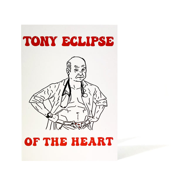 Tony Eclipse of the Heart - valentine's day card