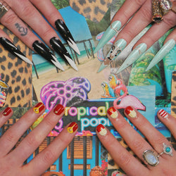 Mini Mani with Art for Two from Tropical Popical - designist 10 Voucher