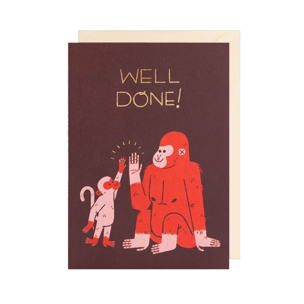 Well Done - gorilla