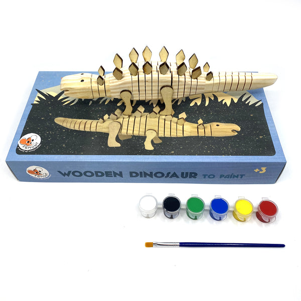 Paint Your Own Wooden Dinosaur