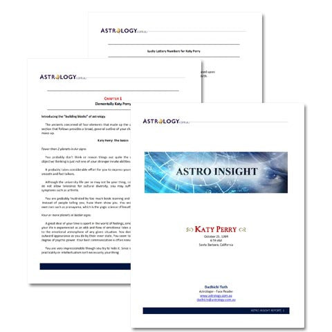 ASTRO INSIGHT REPORT