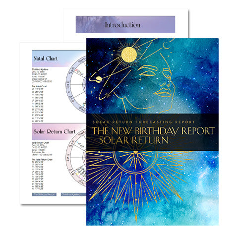 The New Birthday Report - Solar Return Forecasting Report