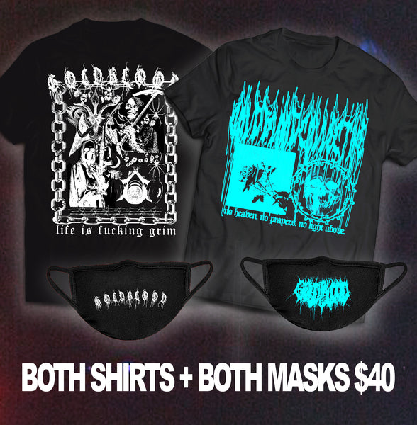 two shirts + two masks