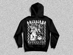 [life is fucking grim] hoodie