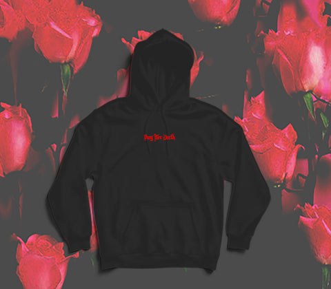 prey for death, beg for mercy hoodie