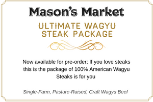 Ultimate Wagyu Steak Package