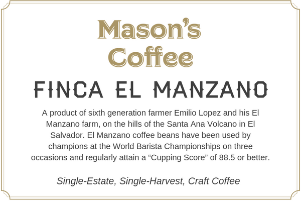 Single-Estate Finca El Manzano
