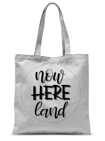 now-here.land // Polyester Tote Bag