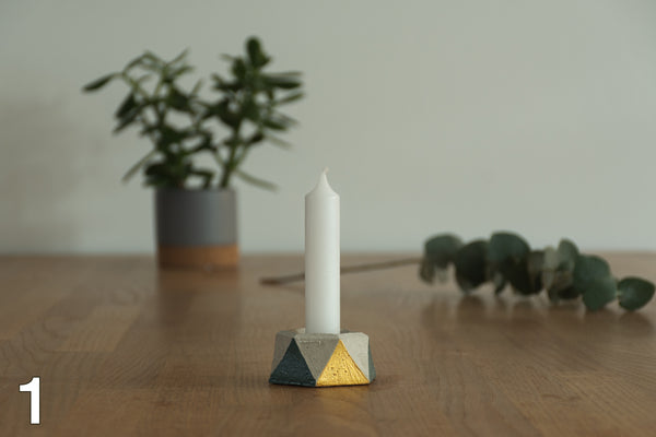 Concrete Candle Light // Christmas Gift