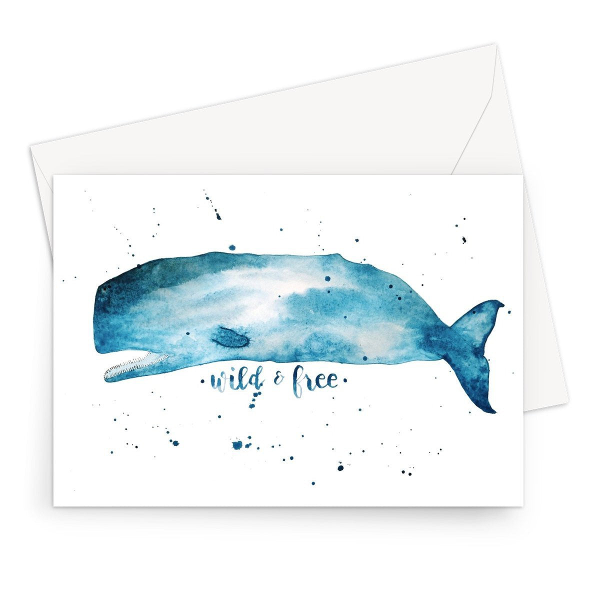 Wild and Free // Greeting Card