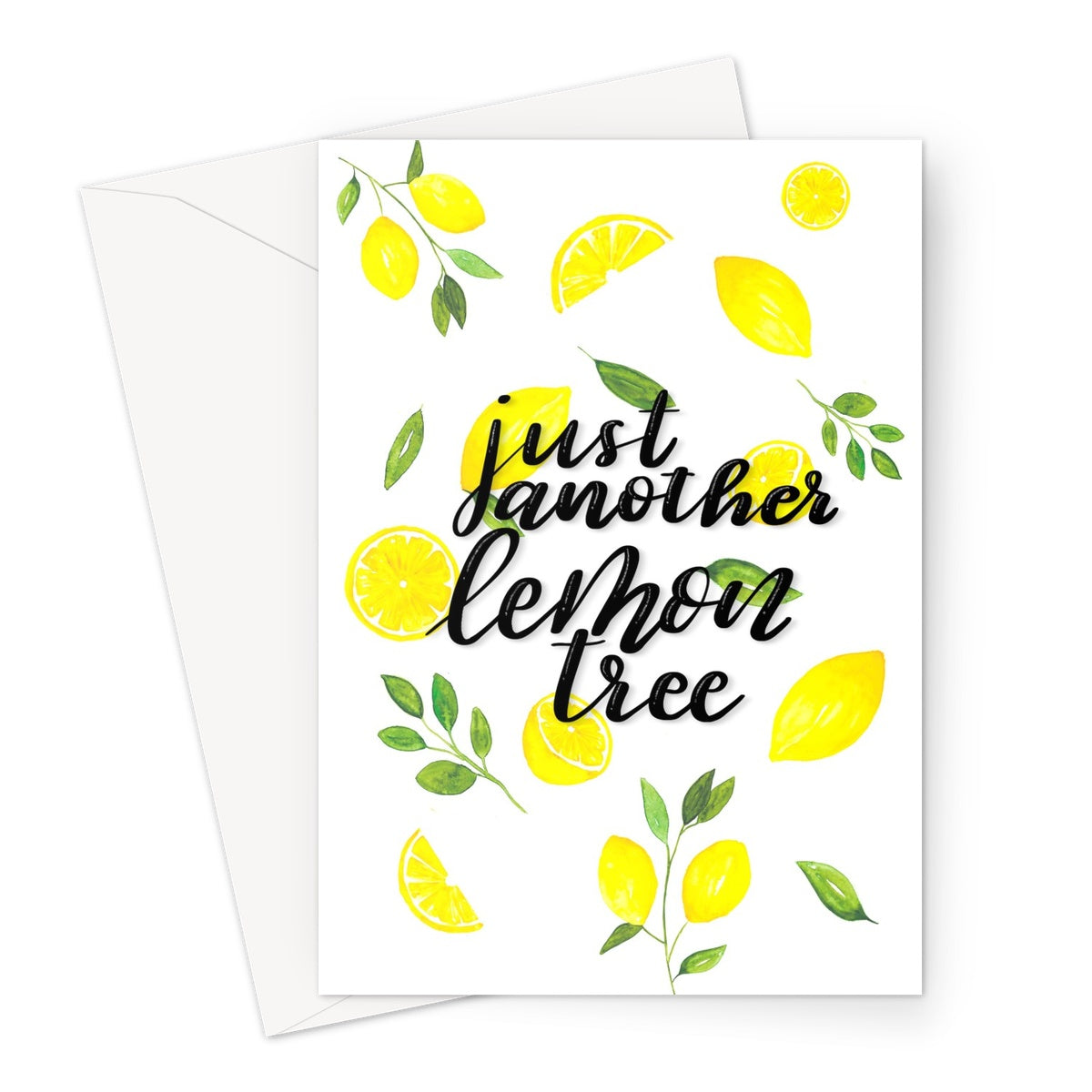 Lemon Tree // Greeting Card