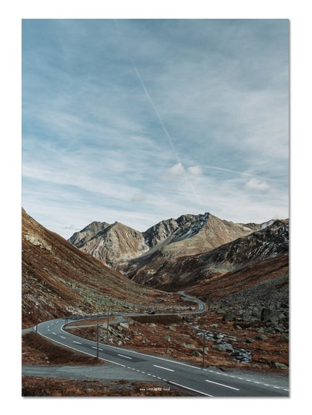 The Mountain Road // Fine Art Print