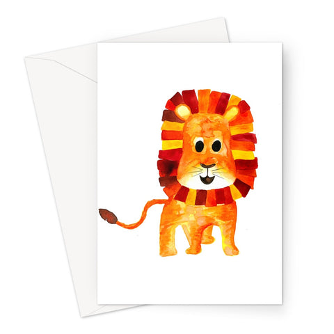 Baby Lion // Greeting Card