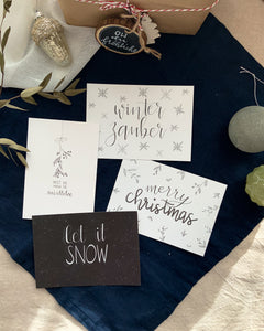 Christmas Cards // Postcard