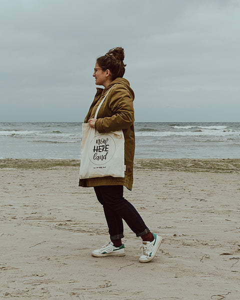 now-here.land // Organic Cotton Tote Bag