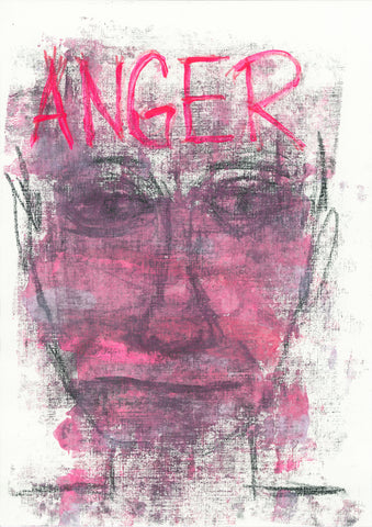 Anger // Original Art