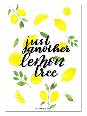 Lemon Tree // Fine Art Print