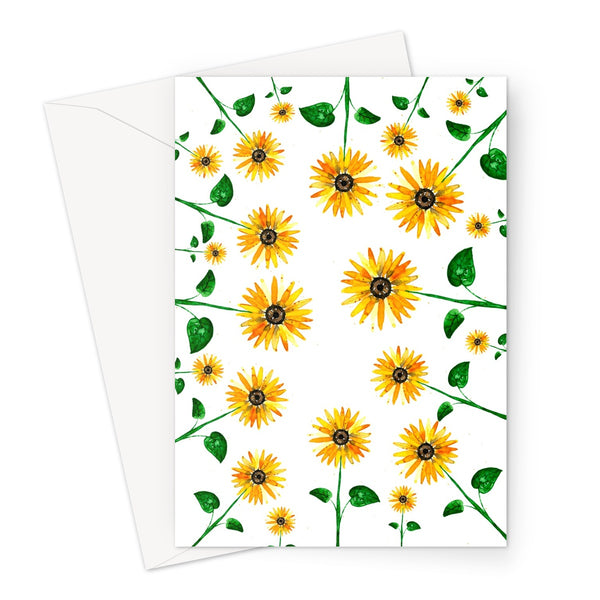 Sunflower Everywhere // Greeting Card