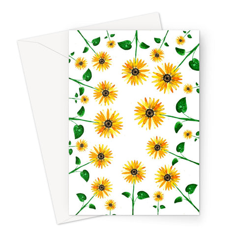 SunflowerEverywhere // Greeting Card