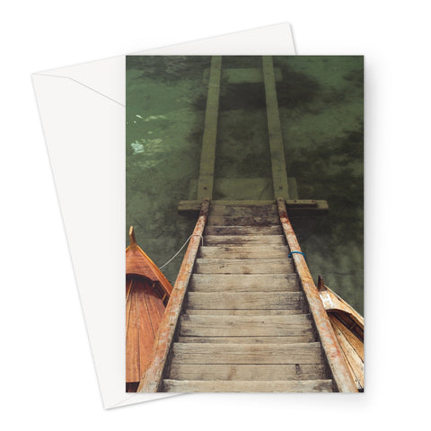 Stairs // Greeting Card