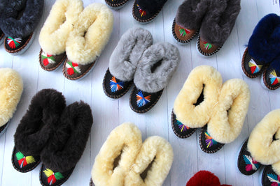 Clearance Sale Sheepskin Slippers