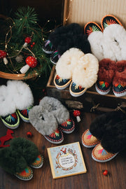 Lucky Dip Kids Sheepskin Slippers by ONAIE - ONAIE