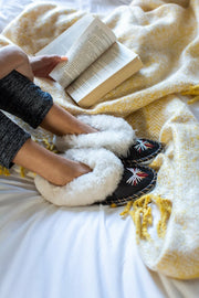 Silver Ash Sheepskin Slippers - ONAIE
