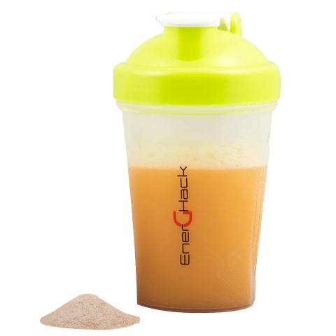 EnerGHack Green Shaker Bottle