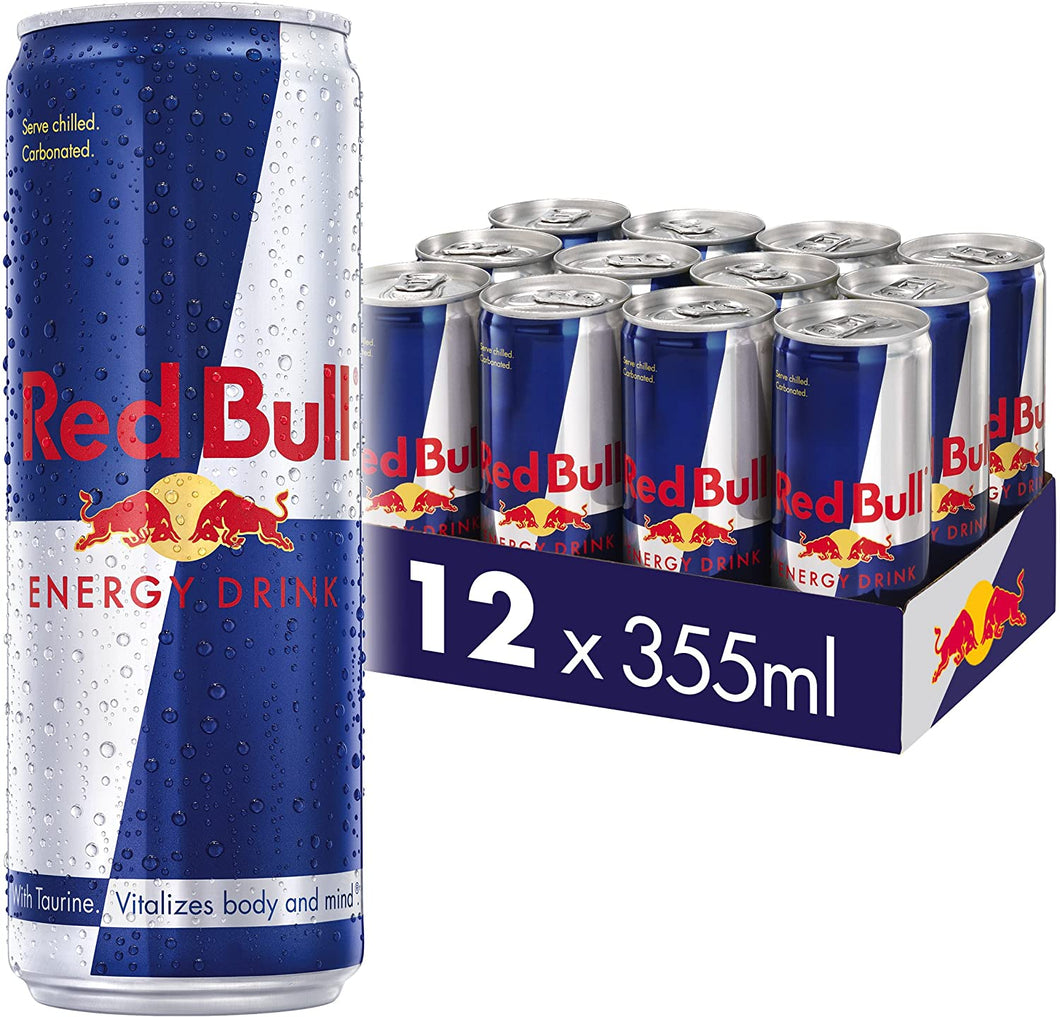 Red Bull Energy Drink 355ml com 12 latas
