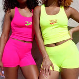 Neon Twiley Two Piece