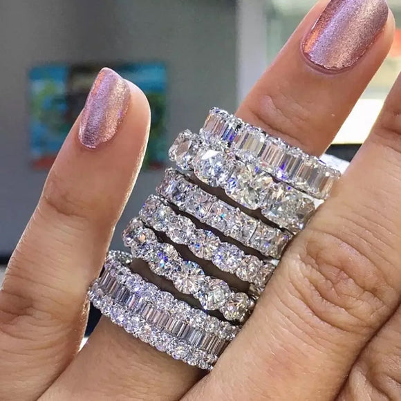 Icy Bling Diamond Ring