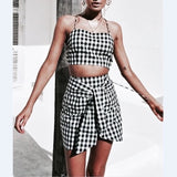 Checkerboard Two Piece Set
