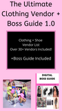 The Ultimate Clothing + Shoe Vendor + Boss Guide 1.0