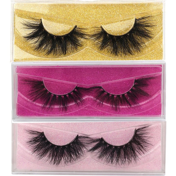 Fluffy 3D Mink Lashes