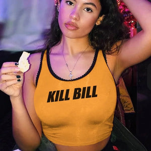 Kill Bill Tank Crop Top
