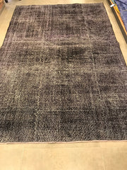 Free Shipping Turkish Vintage Carpet Natural and Hand Knotted (10x6.5 feet) 10206