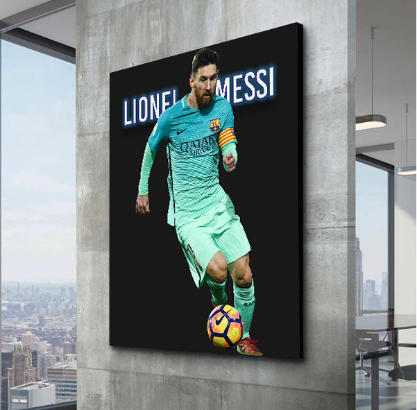 Lionel Messi For Barcelona