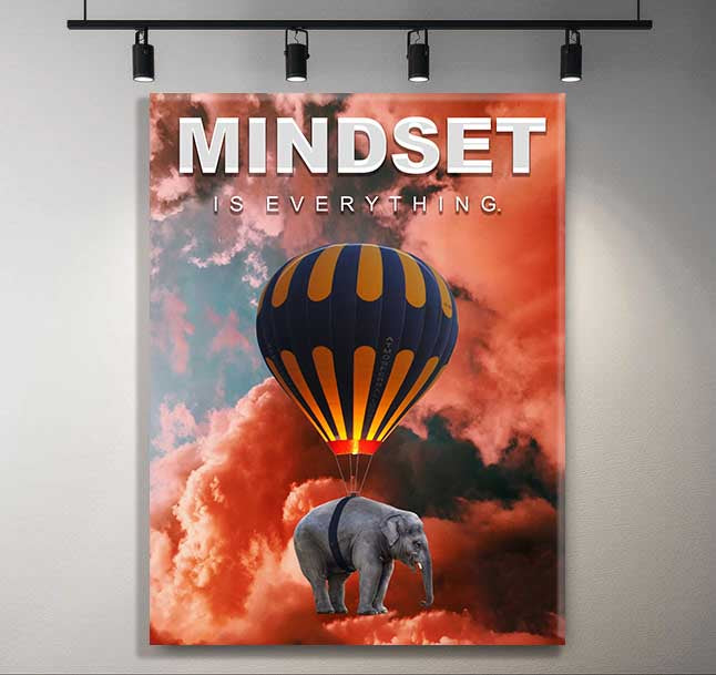 Mindset Is Everything - Sky Edition