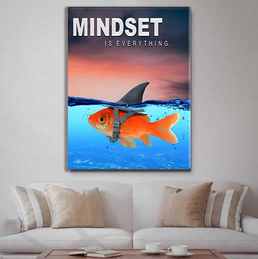 Mindset Is Everything - Shark Attack