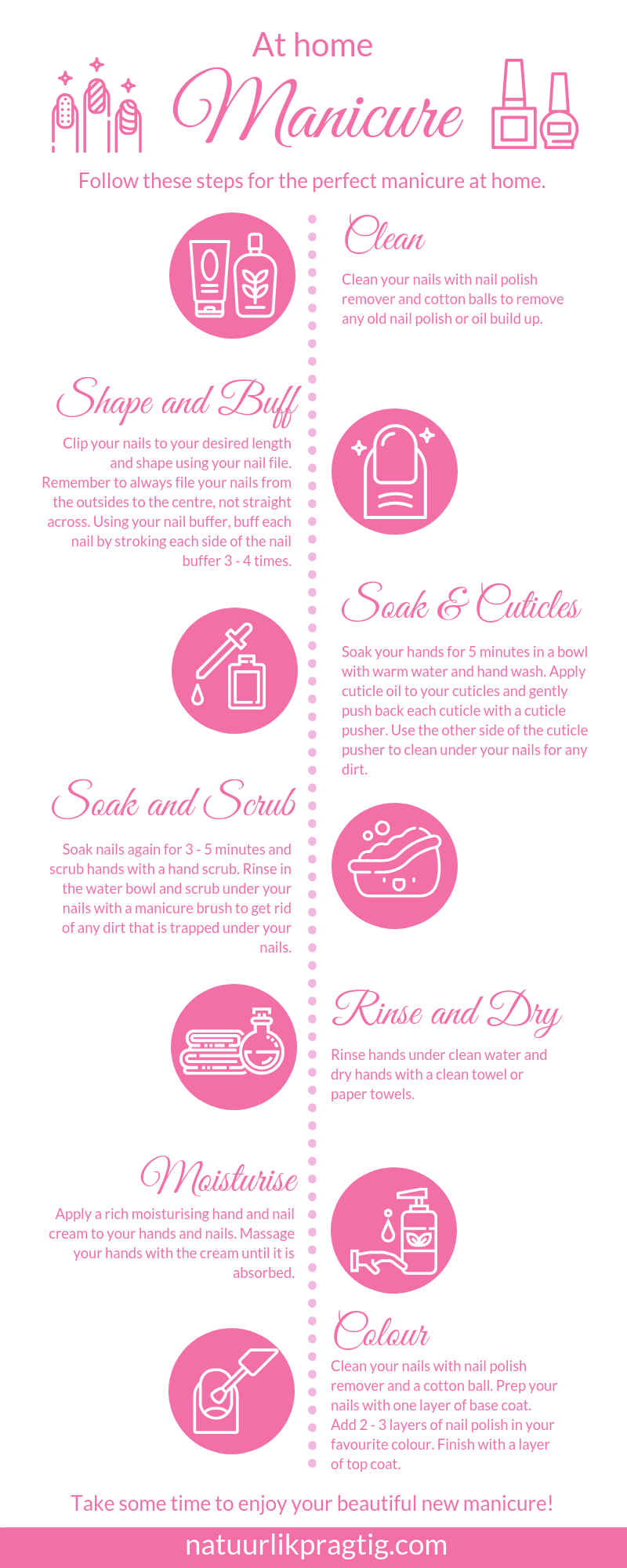 How to do a manicure at home guide