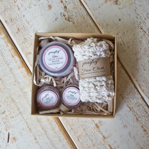 Adore Facial Gift Box | Chocolate & Vanilla | For All Skin Types