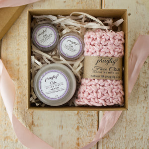 Calm Facial Gift Box | Lavender, Chamomile & Neroli | For Sensitive Skin Types