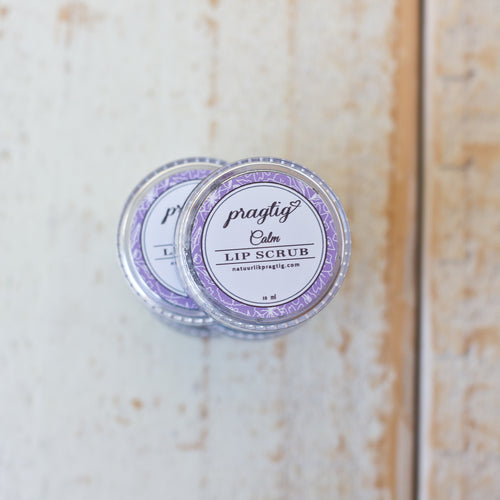 Calm Lip Scrub | Activated Charcoal, Lavender, Neroli & Chamomile