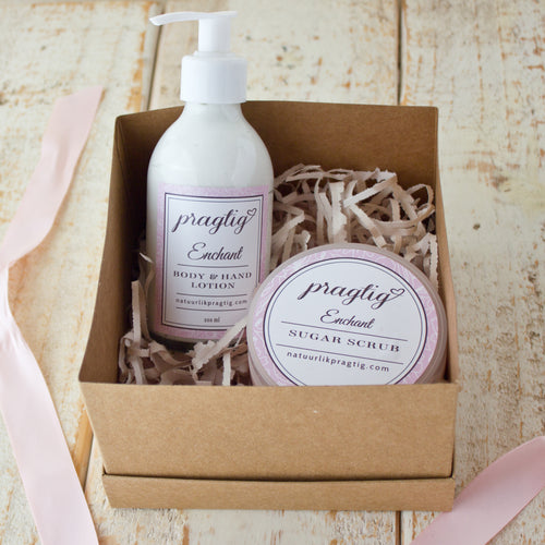 Enchant Body Gift Box | Rose, Bergamot & Sandalwood